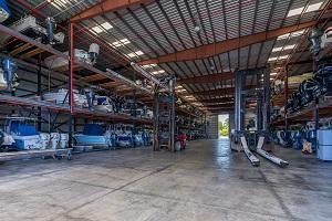 Boat House Barn-Inside-Marathon FL-dry racks