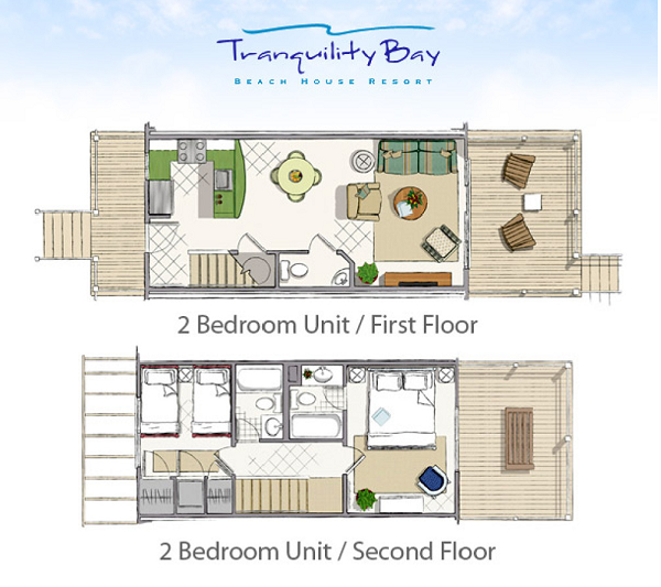 Floor plans 2 bedroom